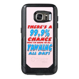 99,9% BAÎLLEMENT TOUTE LA JOURNÉE (noir) Coque OtterBox Samsung Galaxy S7