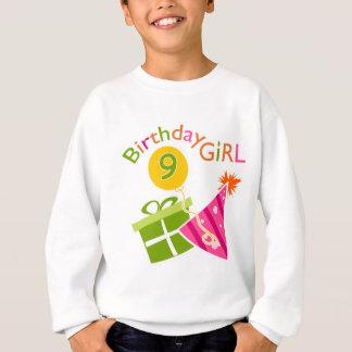 9ème anniversaire de filles sweatshirt