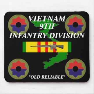 9ème Infanterie Vietnam Mousepad 2/b Tapis De Souris