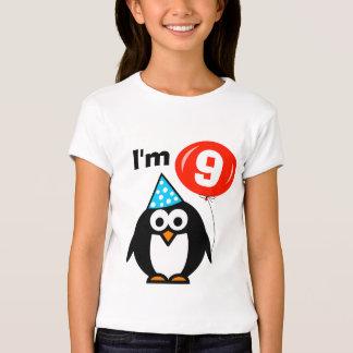 9ème pingouin de la chemise | d'anniversaire t-shirt