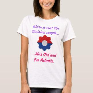 9ème Shirt de Division de vieille Madame digne de T-shirt