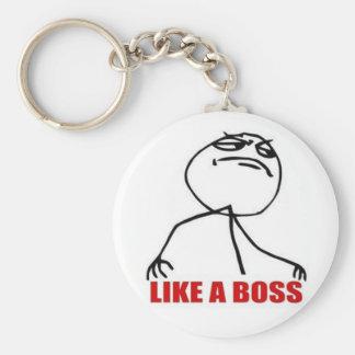 9GAG aiment un porte - clé de patron Porte-clés