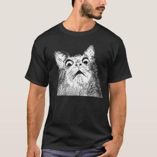 9GAG quelle sorcellerie est ce chat T-shirt