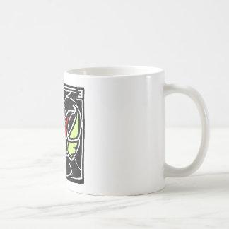 à ailes s'est levé mug à café