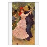 À Bougival (1883) de Pierre-Auguste Renoir - de Carte De Correspondance