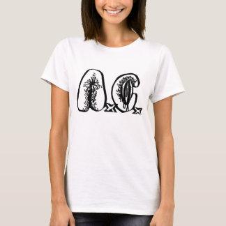 A.C. - T-shirt de filles de logo