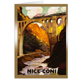 À Coni de Nouvelle Ligne de Nice par Carte De Vœux