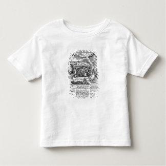 À Dieu, dans la mémoire de sa double délivrance T-shirt Pour Les Tous Petits
