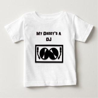 A DJ de mon papa T-shirt Pour Bébé