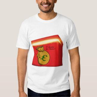A donné une fessée au T-shirt de banquier pour les