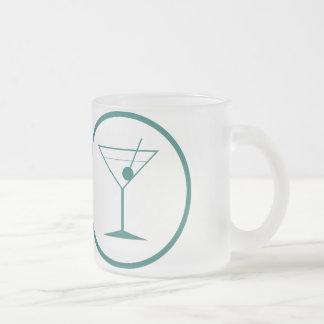 a fait la science tandis que sous l'influence mug en verre givré
