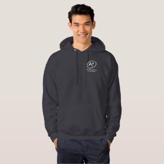 A+ H.E.L.P. Sweatshirt à capuchon gris-foncé