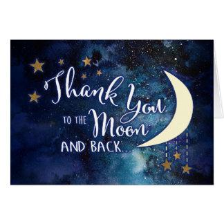 À la lune et aux cartes arrières de Merci