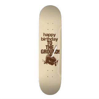 À la terre skateboard old school  21,6 cm