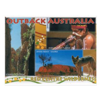 À l'intérieur l'Australie Carte Postale