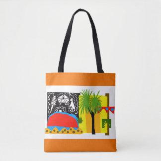 À l'intérieur sac fourre-tout à Uluru-