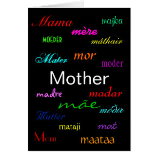 """""""A Mother's Day"""" Card Greeting Card"""