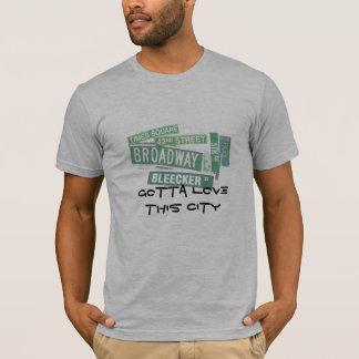 A obtenu d'aimer cette ville - rues t-shirt