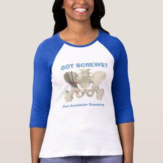 """A OBTENU DES VIS ? T-shirt d'Osteotomy"