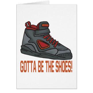 A obtenu d'être les chaussures carte de vœux