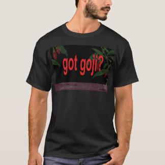 """""""A obtenu Goji ?"""" êtes-vous des riches ou T-shirt"""