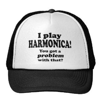 A obtenu un problème avec le ce, harmonica casquettes de camionneur