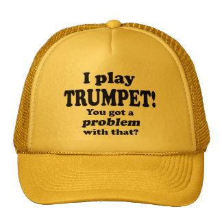A obtenu un problème avec le ce, trompette casquettes