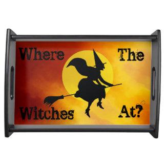 À où les sorcières ? Plateau de portion