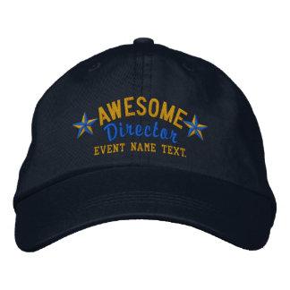 A personnalisé votre directeur impressionnant casquette brodée