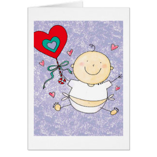 Ă?re Saint-Valentin de petit-fils - carte de note