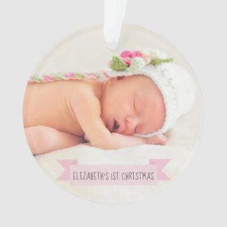Ă?res vacances de photo de Noël de bébé élégantes