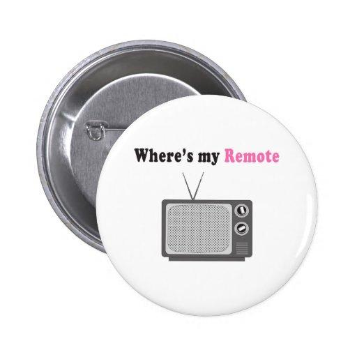 À télécommande badge avec épingle