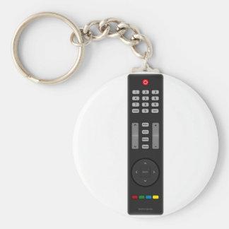 À télécommande porte-clé rond
