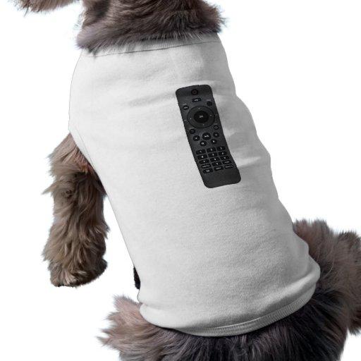 À télécommande t-shirt pour chien