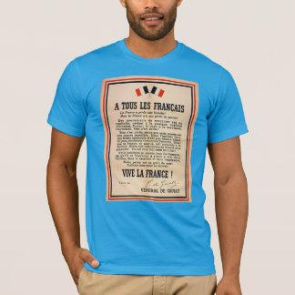 «À Tous les Français» T-shirt