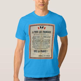 «À Tous les Français» T-shirts