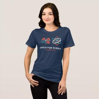 Aas + Mars pour la Science ; Marine T-shirt