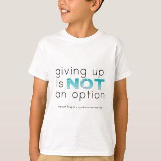 Abandonner n'est pas une option t-shirt