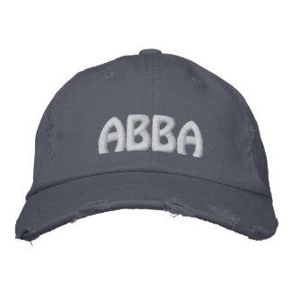 """ABBA - Mot Aramaic pour le """"père. """" Casquette Brodée"""
