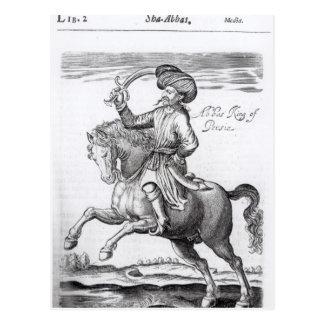 Abbas, roi de Perse Carte Postale