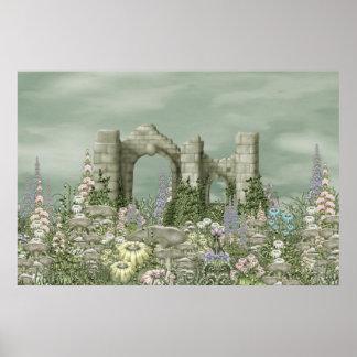 Abbaye de champignon poster