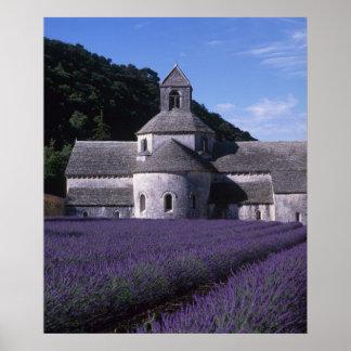 Abbaye de Senanque, Gordes, Vaucluse, Provence, 2 Posters
