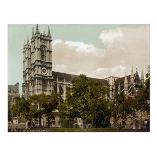 Abbaye de Westminster, Londres c.1895 Carte Postale