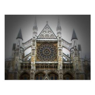 Abbaye de Westminster - Londres - carte postale