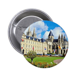 Abbaye Hommes aux., Caen, Calvados, Normandie, fra Pin's