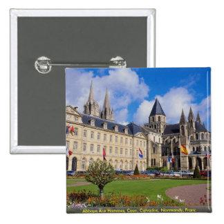 Abbaye Hommes aux Caen Calvados Normandie fra Badge Avec Épingle