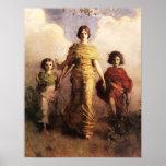 Abbott Handerson Thayer une affiche de Vierge