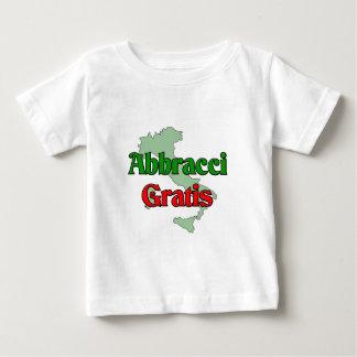Abbracci gratuitement (étreintes libres) t-shirts