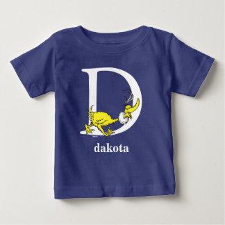 ABC de Dr. Seuss's : Lettre D - Le blanc | T-shirt Pour Bébé