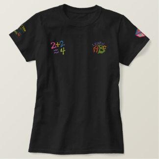 ABC + T-shirt de correction brodé par 123